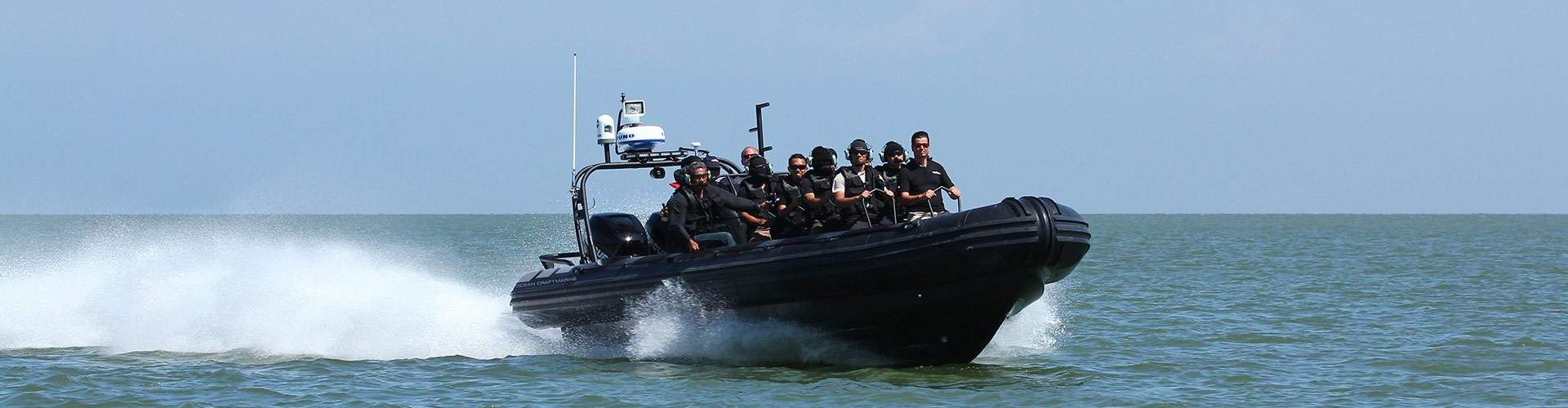 Ocean-Craft-Marine's-Todd-Salus-Delivers-New-Boat-and-Training-to-the-Royal-Brunei-Police