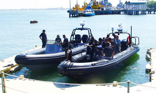 RHIBs delivery and training