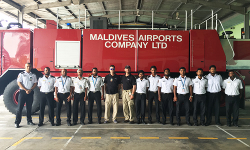 Maldives Fire Rescue Team