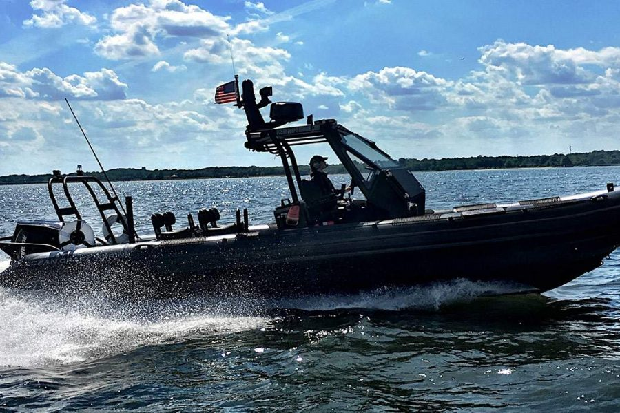 Come experience our cutting-edge 9.5m RHIB at the 2017 Bay Bridge Boat Show