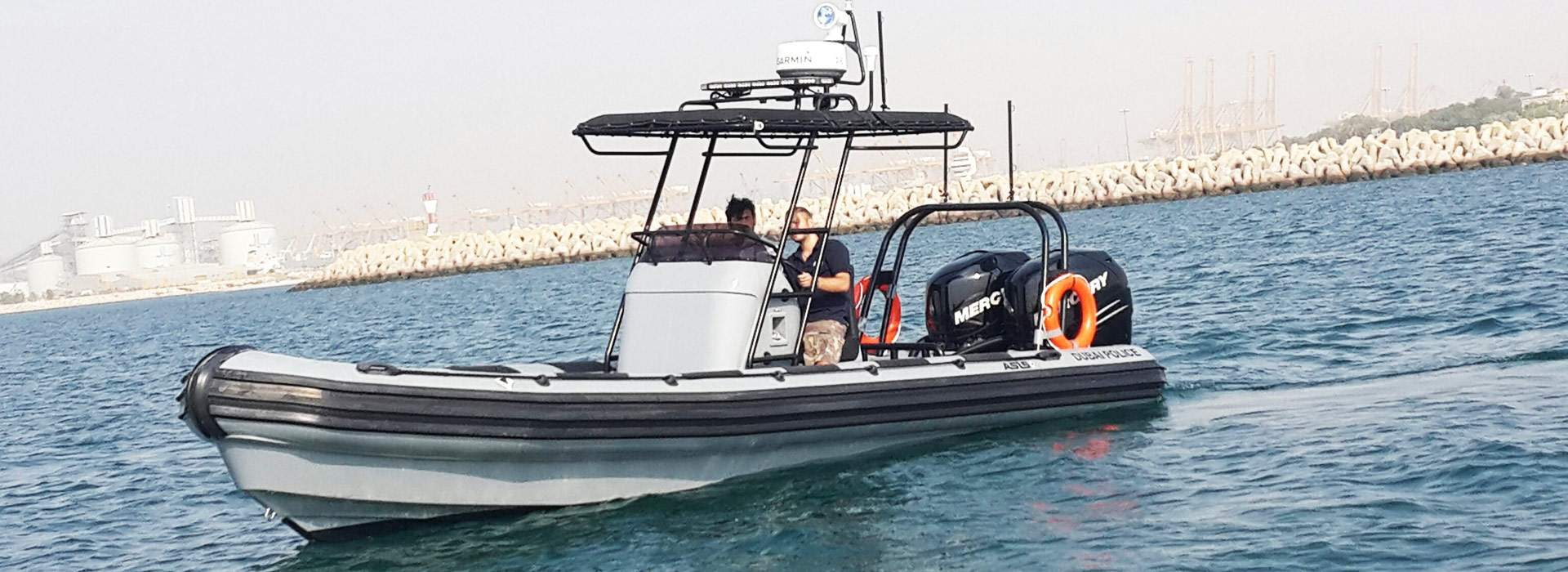 New Police SWAT Boats Ready for Duty