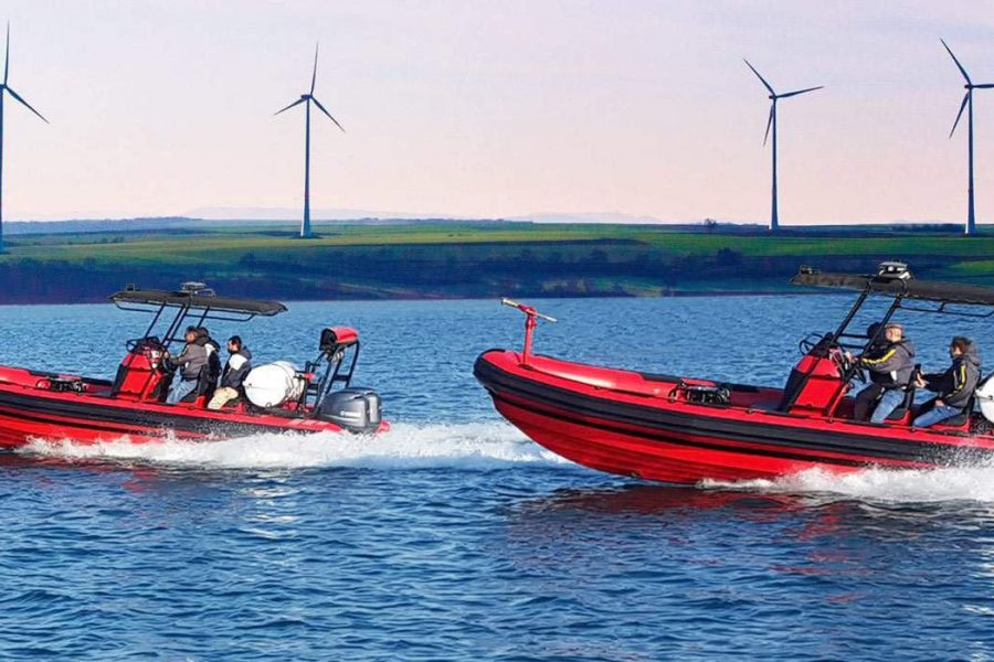 Ocean Craft Marine Delivers New Fire- Fighting RHIBS and Training to the MACL Airport Rescue and Fire Service