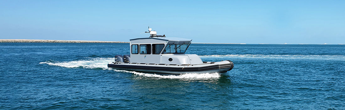 Ocean Craft Marine Delivers a New High–Performance Boat to MDTA