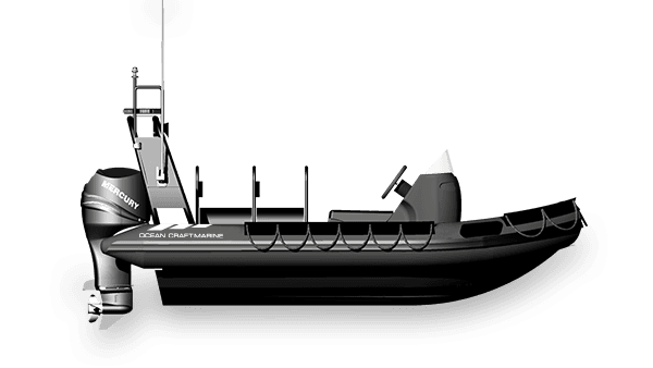 Special Ops & Anti-Piracy Boat 4.1M