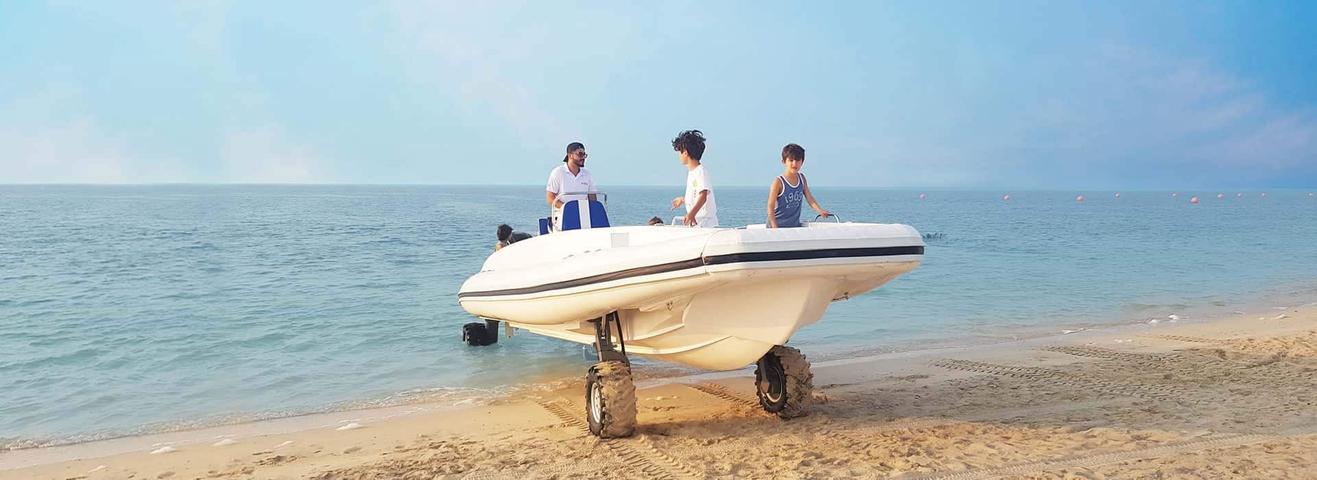 9.5M Amphibious Beachlander Boat