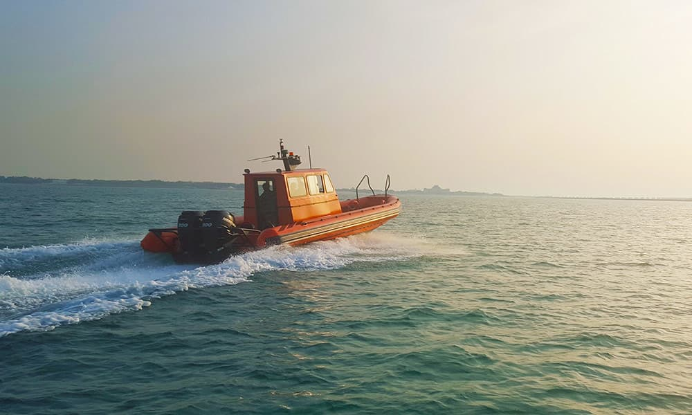 Cabin Rigid Inflatable Boat
