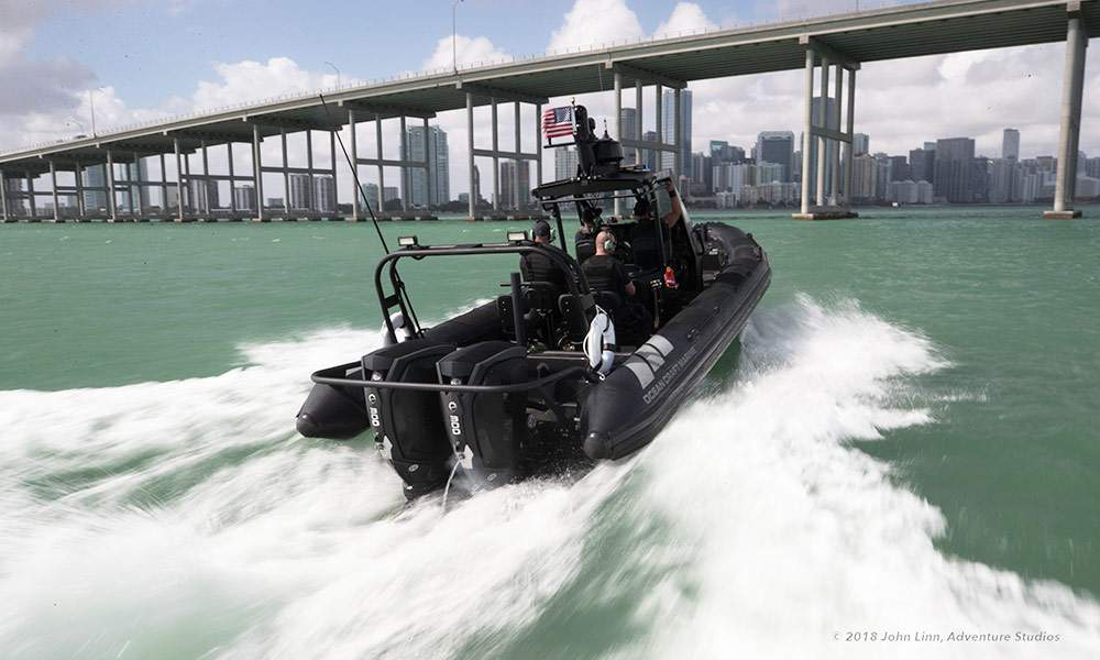 Coast Guard RIB Boat | OCM Rigid Inflatable Boat