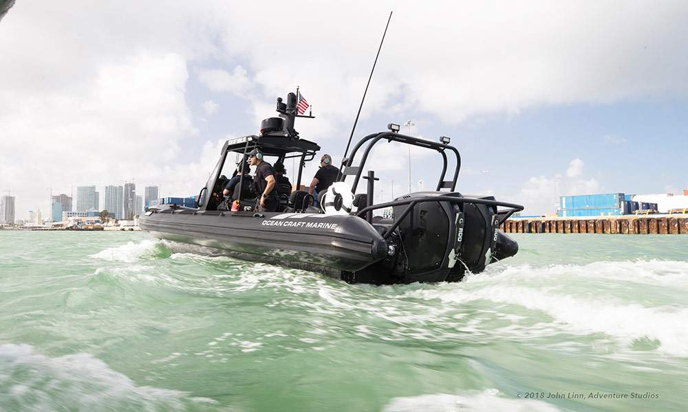 Navy & Coast Guard RHIBs | OCM Boats
