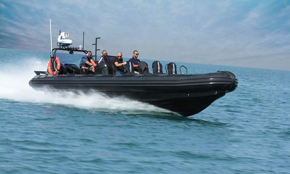 Interceptor-boat