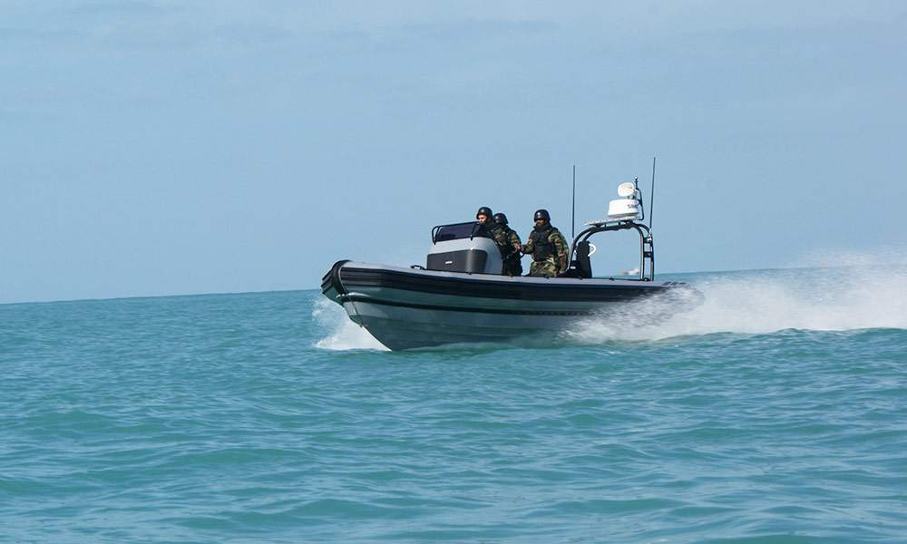 Small Navy Rigid Inflatable Boat | OCM RHIB Boats