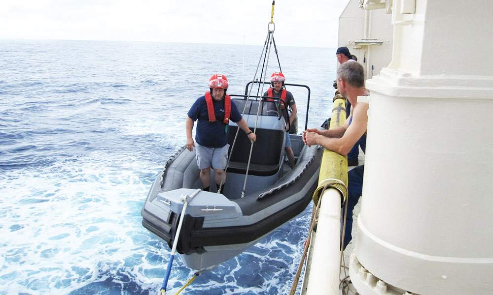 Navy Rigid Inflatable Boats | OCM Military Boats
