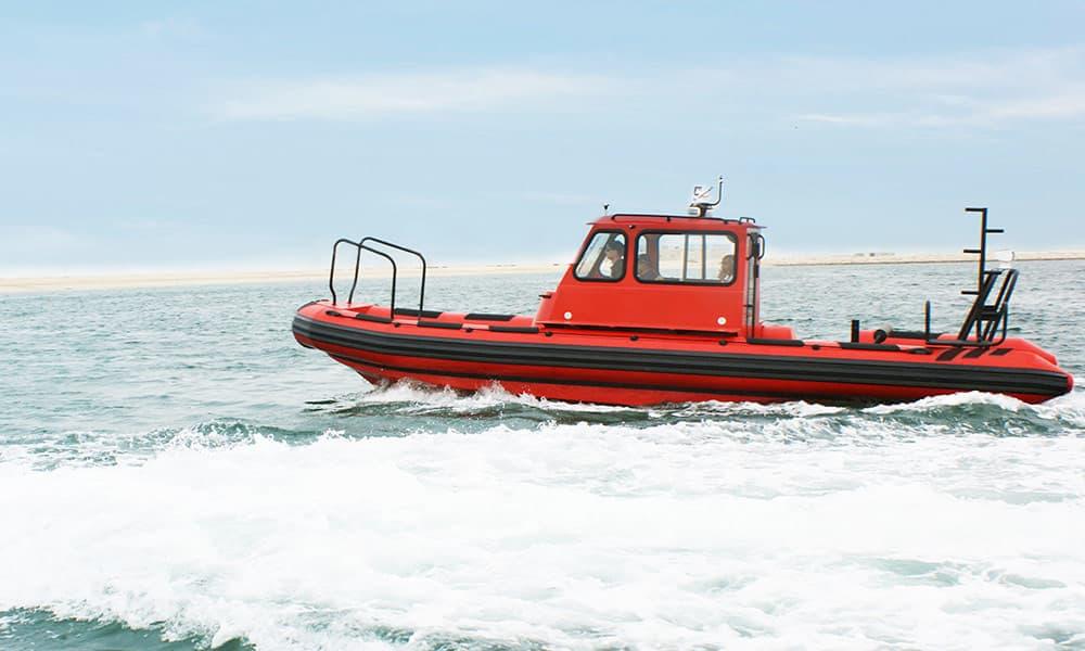 sail support cabin rib boat