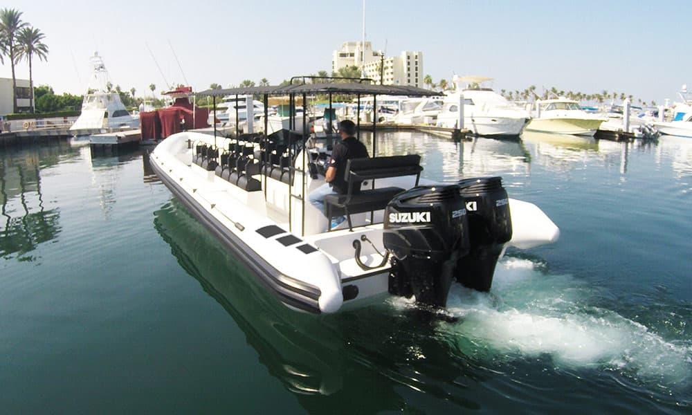 Crew transport Rib boat