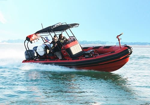 firefighting rib boats