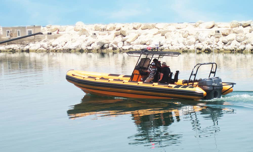 Rigid-inflatable-Boat-for-offshore