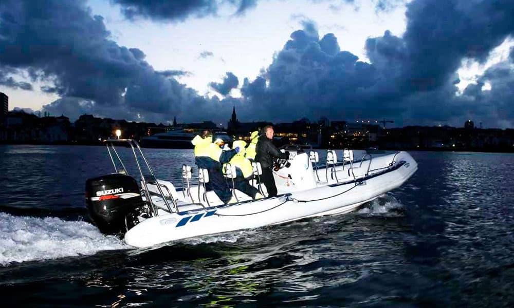 Sightseeing rhib boat