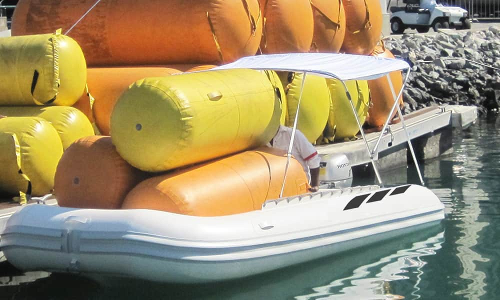 Transport-fully-inflatable-boat