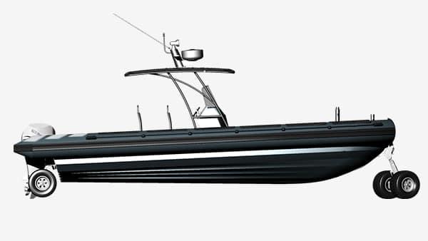 amphibious-4WD-boat