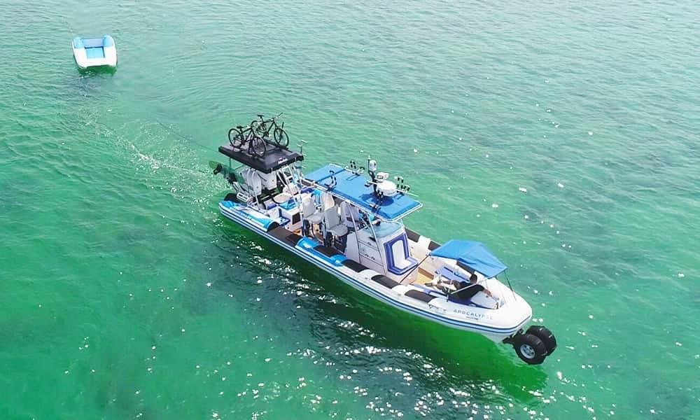 amphibious rigid inflatable boat
