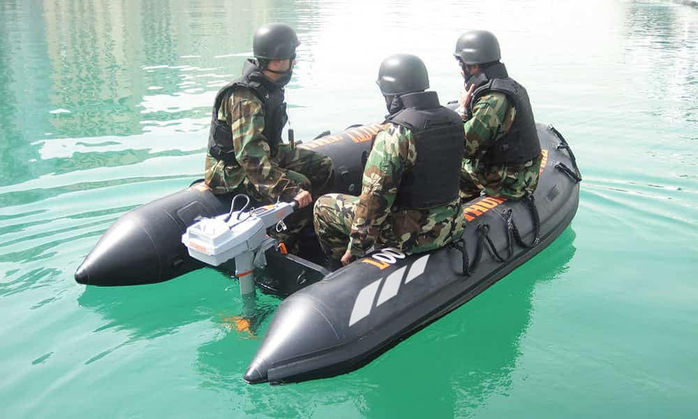 fully inflatable boat