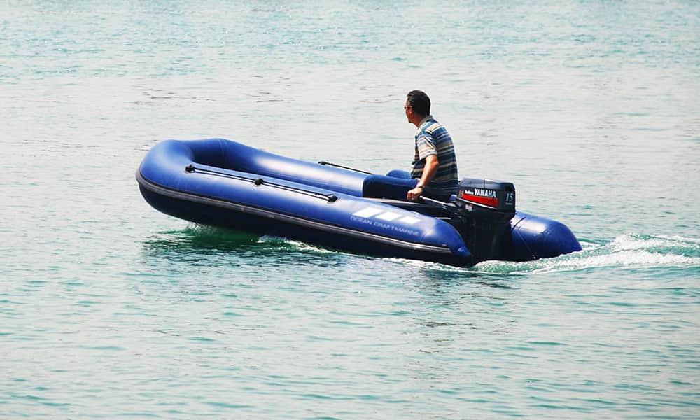 rubber-boat