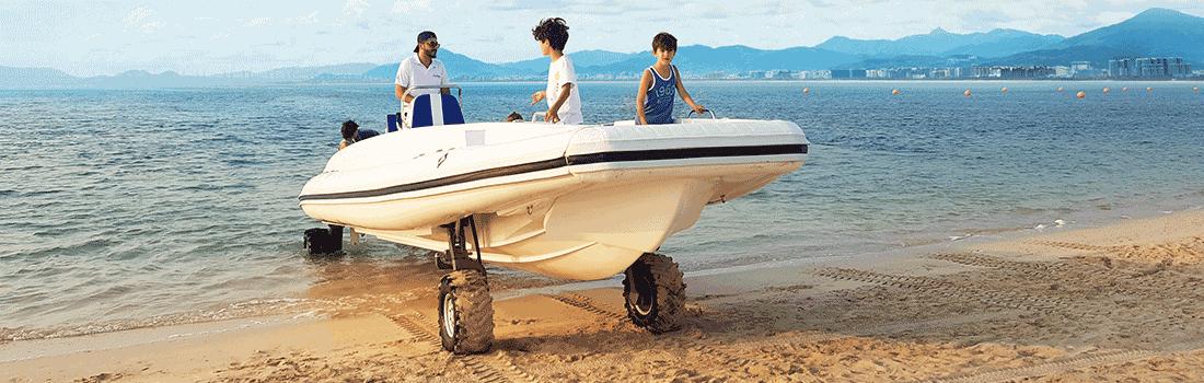 9.5M Amphibious Beachlander Boats