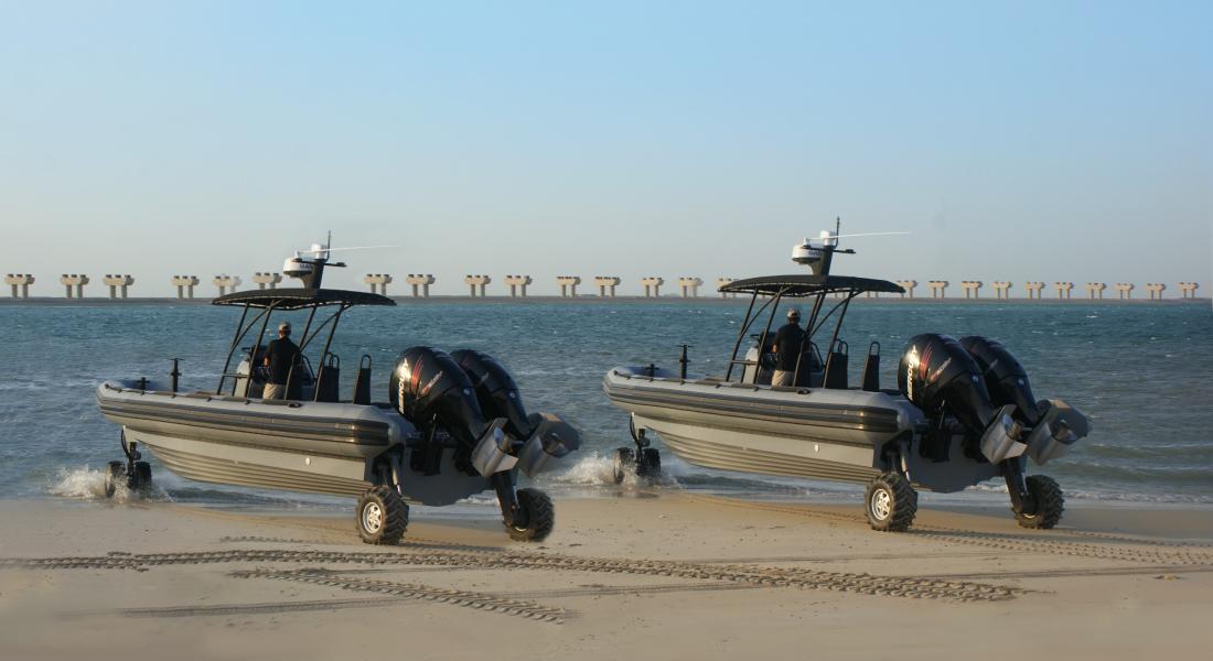 Professional Amphibious RIB Boats