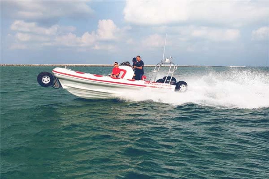 Take A Drive Into The Sea With OCM's 7.1M Amphibious Boat