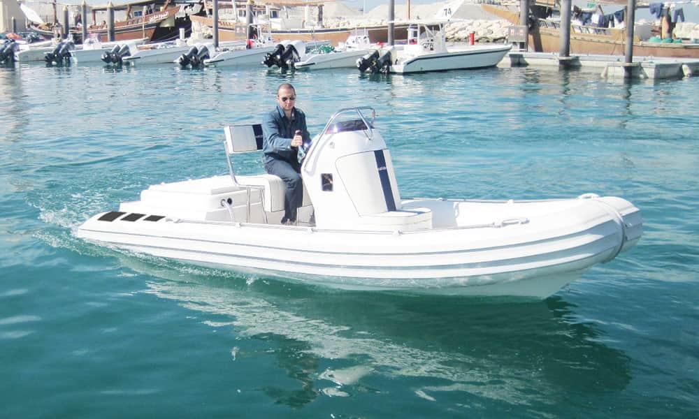 Inboard Rescue RIB Boat