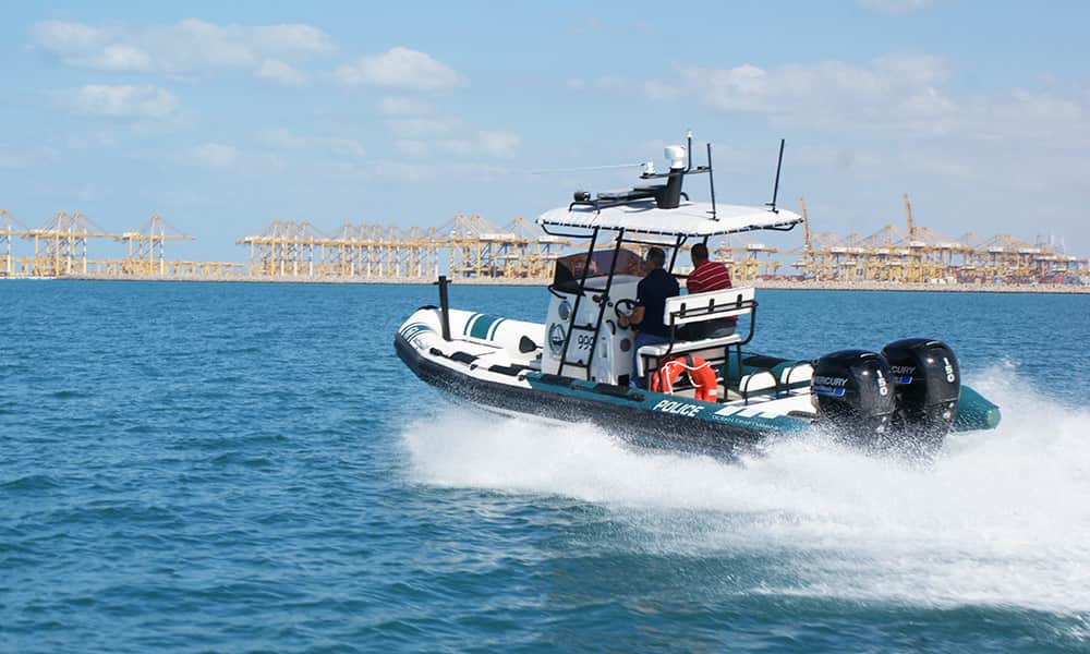 Police-Rigid-Inflatable-Boat