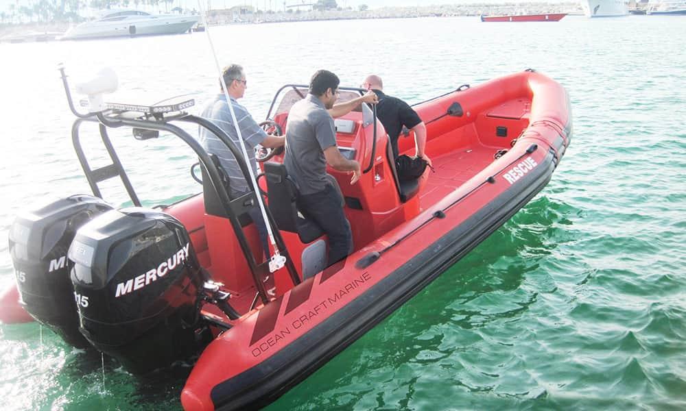 RIB Boat for Rescue