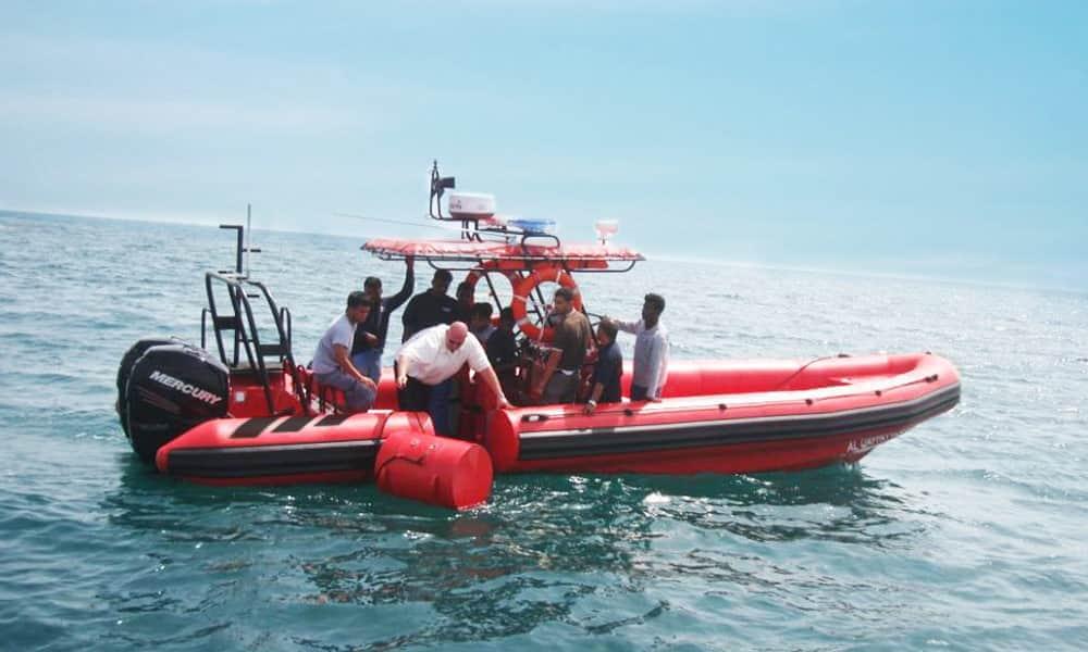 Rescue RIB Boat with detachable tube