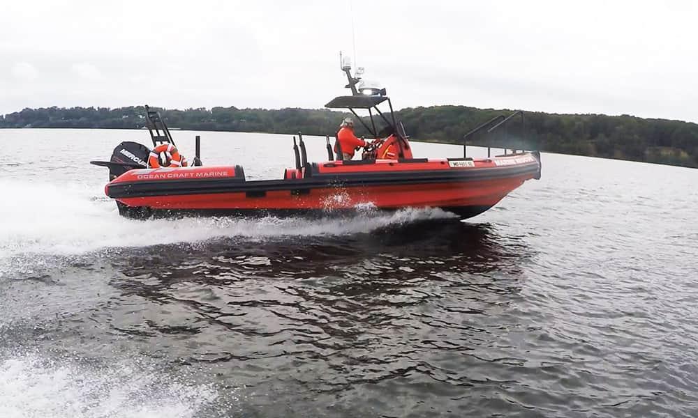 SAR RIB Boat