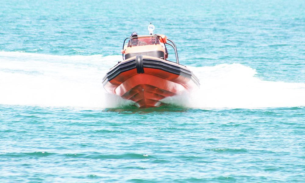 Search & Rescue RHIB Boat