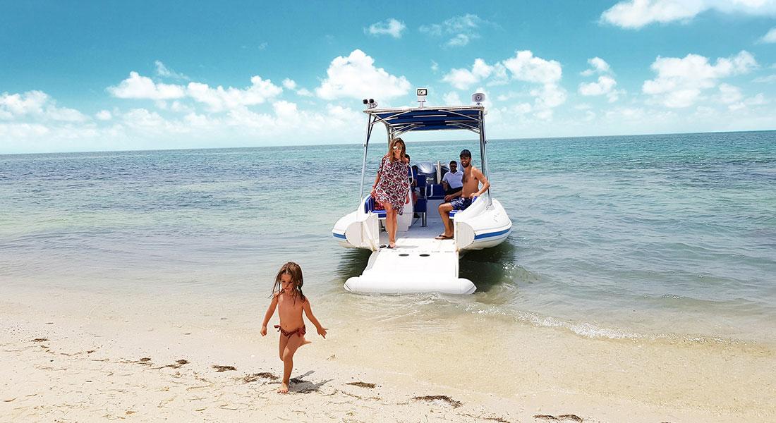 Amphibious Beachlander RHIB