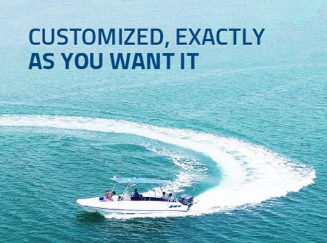 Customized Inflatable Beachlander Boat