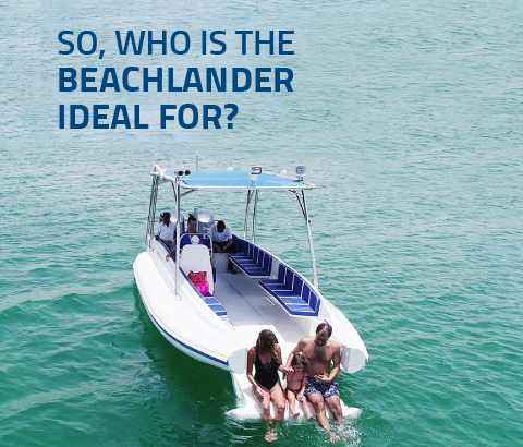 Beachlander RIB for Divers