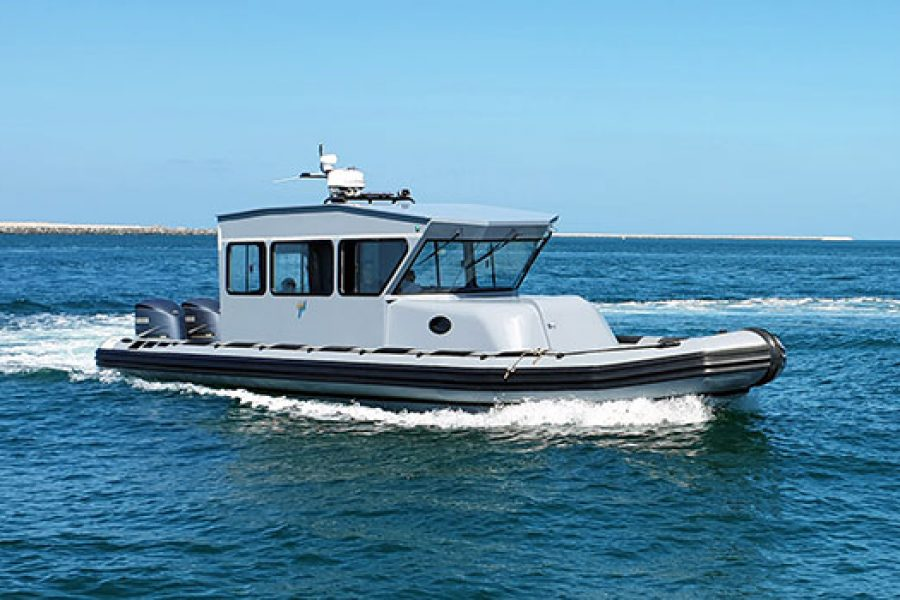 Ready For Whatever The Sea Brings: The 12M Military Cabin Boat
