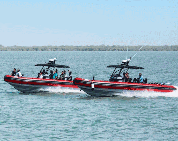 Professional Sail Support RIB Boats