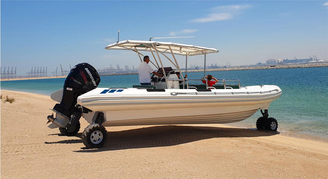 Recreational Amphibious Boat Tour