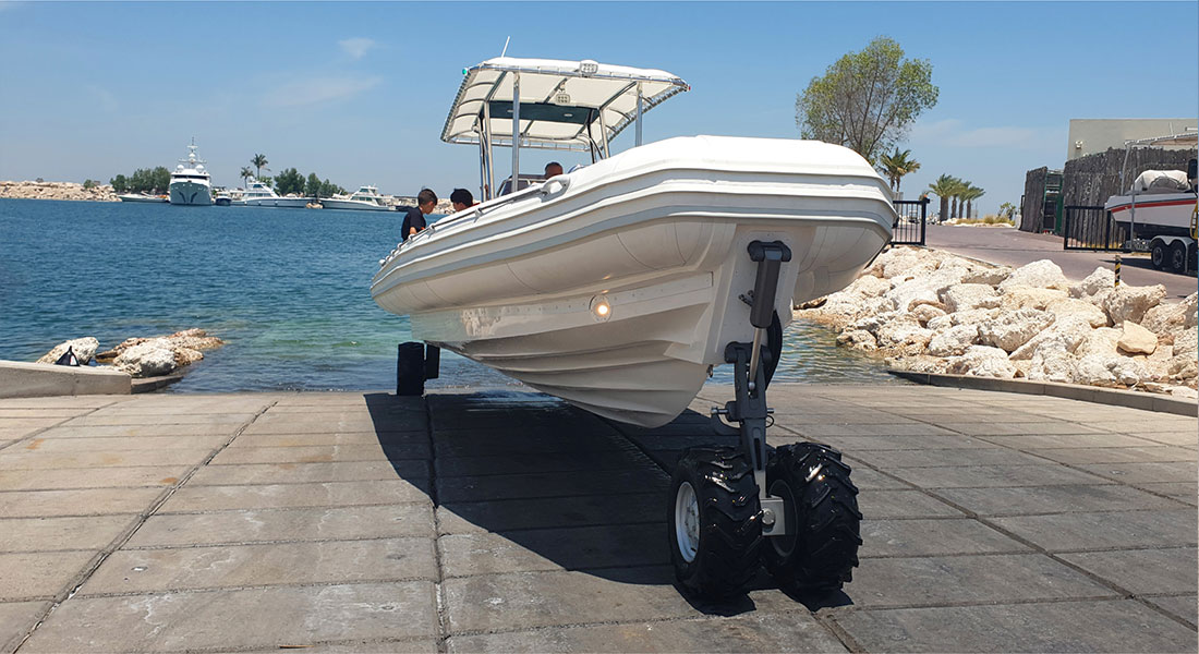 Customized Amphibious Boat for Tour