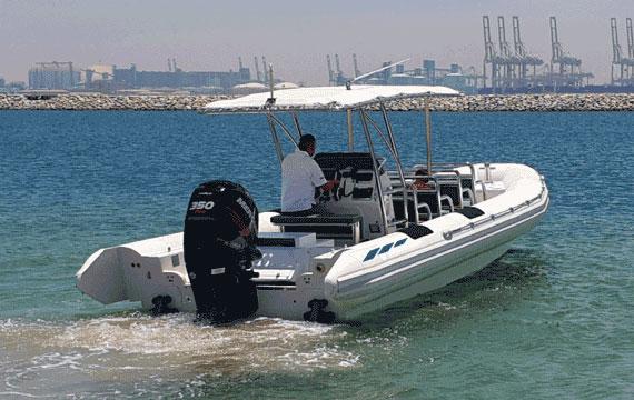 V-hull Amphibious Boat