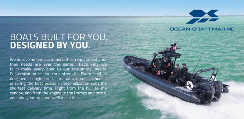 Custom Military RIB Boats