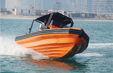 Aluminum Hull Design Inflatable Boat