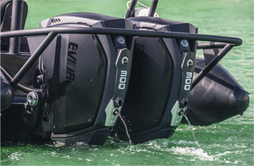 Inboard Outboard Engine for RHIB Boats