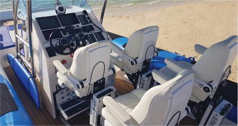 Custom Inflatable Boat Seats