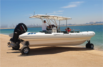 Custom Built Amphibious Boats in USA