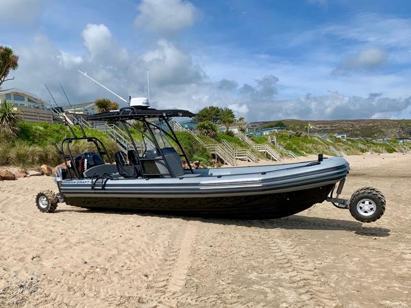 Customized Amphibious RHIB Boat