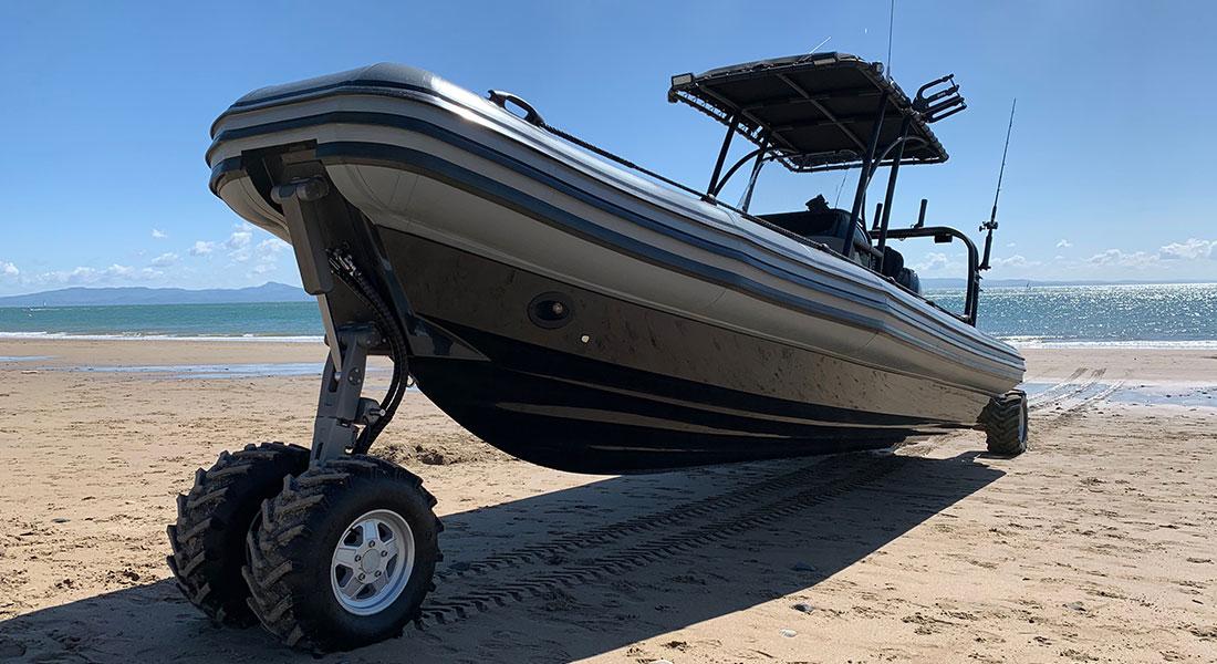 Professional Beachlander RIB Boat