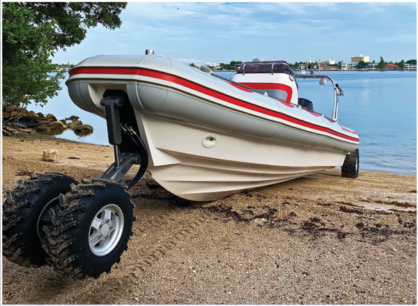 Customized Amphibious Boat from OCM